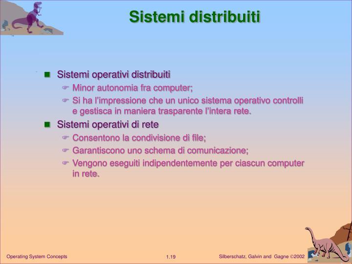 Sistemi distribuiti