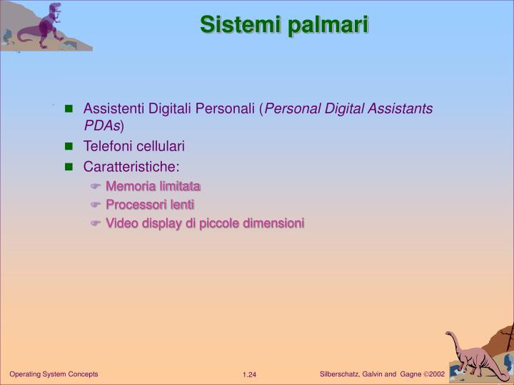Sistemi palmari