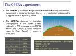 the opera experiment