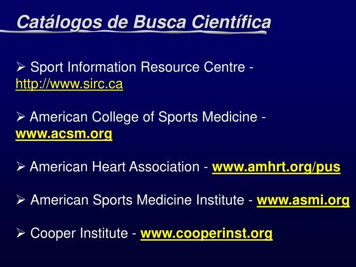 Sport Information Resource Centre -