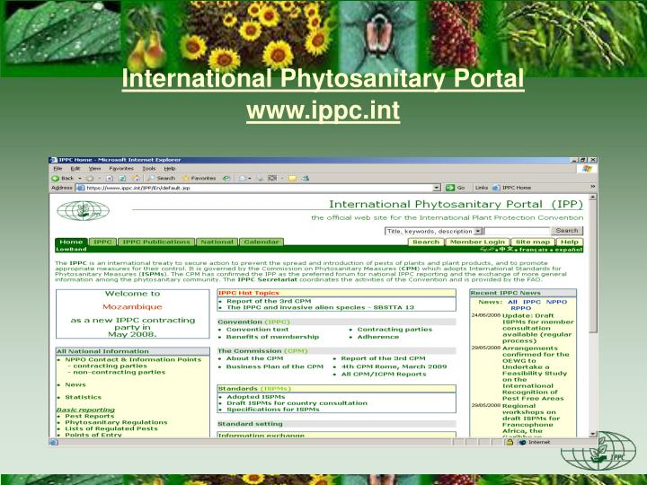 International Phytosanitary Portal