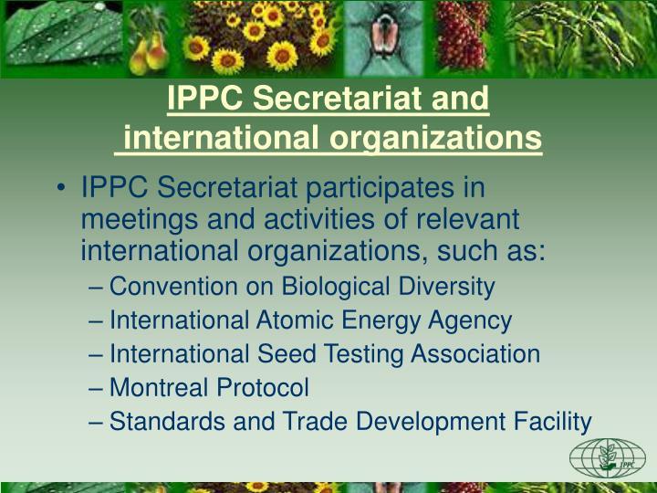 IPPC Secretariat and