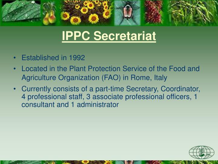 IPPC Secretariat