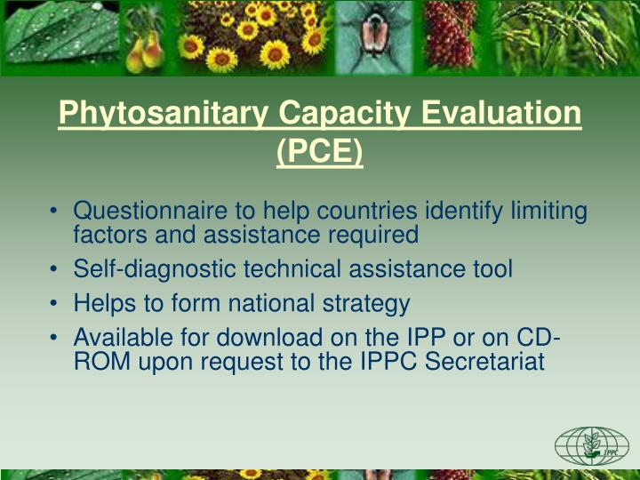 Phytosanitary Capacity Evaluation (PCE)