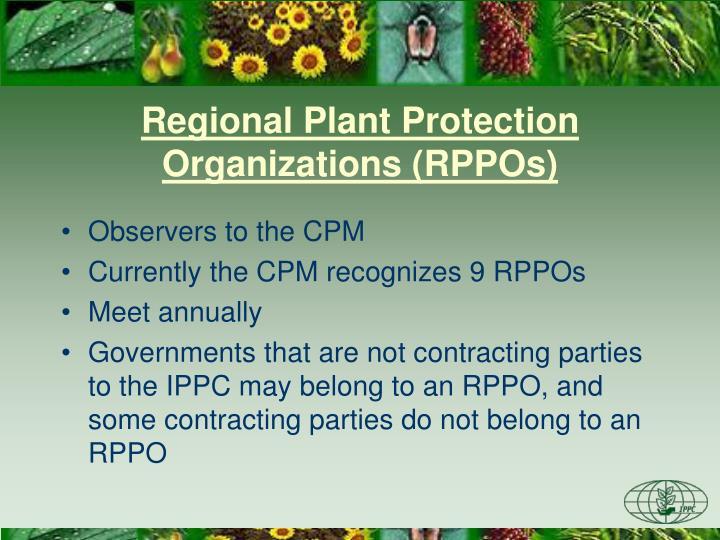 Regional Plant Protection Organizations (RPPOs)