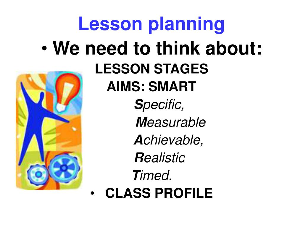 PPT - LESSON PLANNING PowerPoint Presentation - ID:3490672