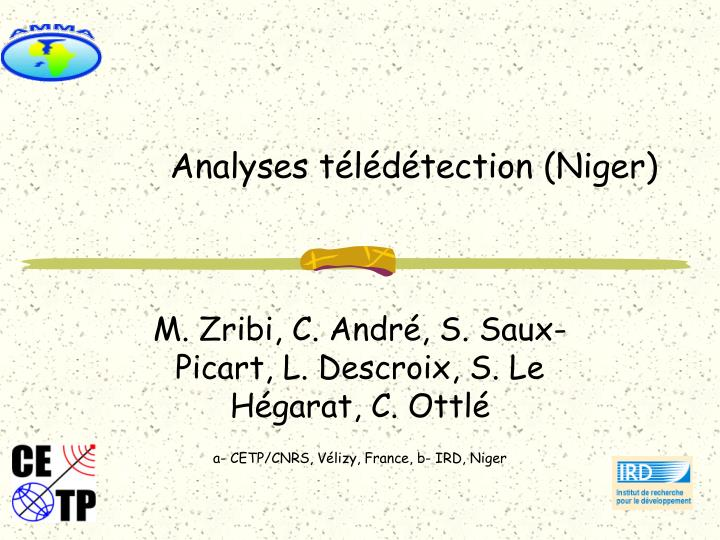 analyses t l d tection niger n.