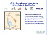 lp iii green energy libramiento 65 km natural gas pipeline