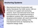 anchoring systems1