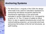 anchoring systems2