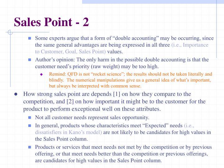 Sales Point - 2