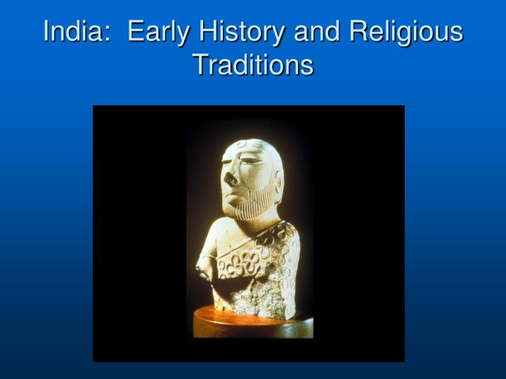 india early history and religious traditions n.
