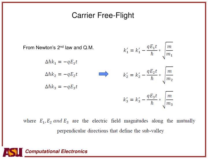 Carrier Free-Flight