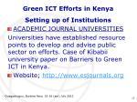 green ict efforts in kenya10