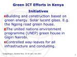 green ict efforts in kenya2