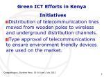 green ict efforts in kenya3