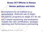 green ict efforts in kenya5