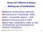 green ict efforts in kenya7