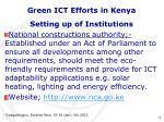 green ict efforts in kenya8