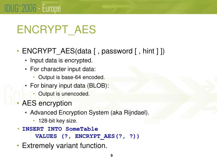 ENCRYPT_AES
