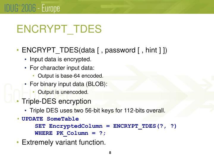 ENCRYPT_TDES