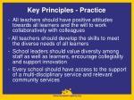 key principles practice1