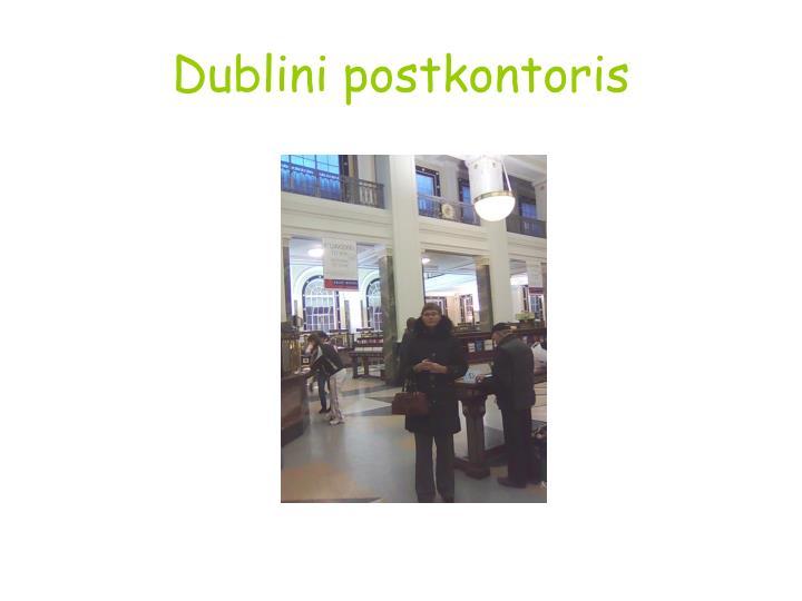 Dublini postkontoris