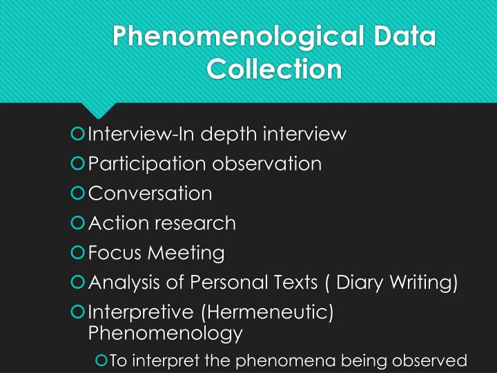 hermeneutic phenomenology thesis Swedish university dissertations (essays) about hermeneutic phenomenology search and download thousands of swedish university dissertations full text free.