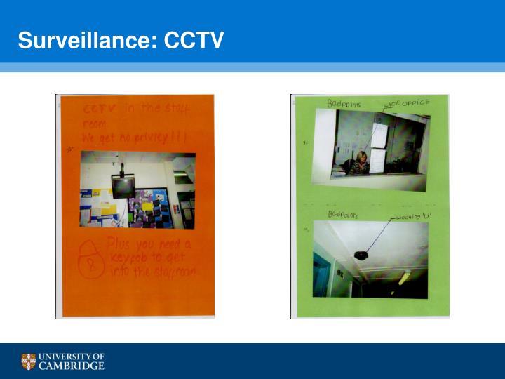 Surveillance: CCTV