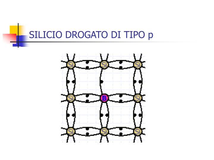 SILICIO DROGATO DI TIPO p
