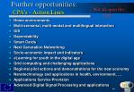 further opportunities cpa s action lines