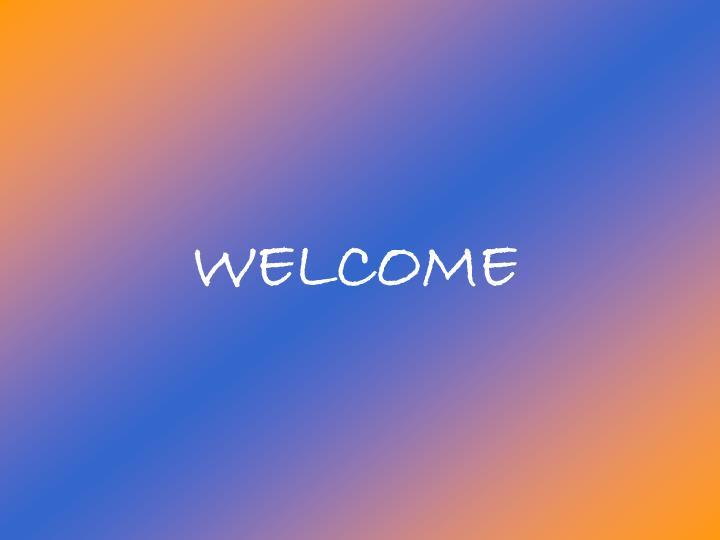 welcome n.