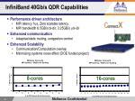 infiniband 40gb s qdr capabilities