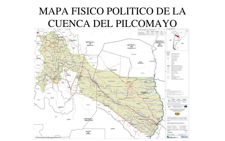 Resultado de imagen para Cuenca del río Pilcomayo,