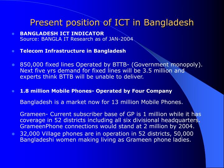 ict in bangladesh