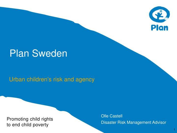Plan sweden