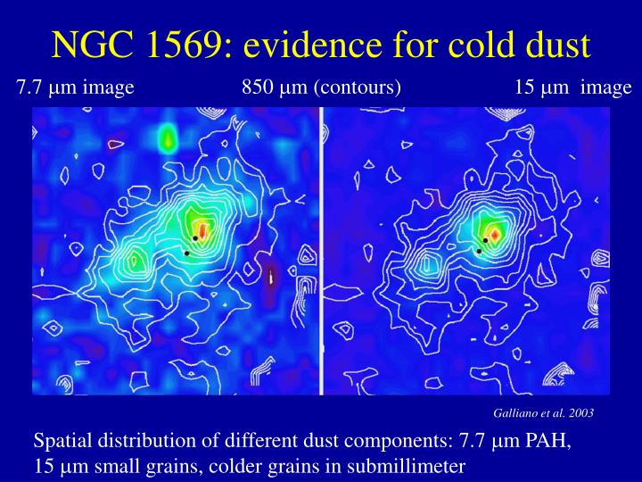 NGC 1569: evidence for cold dust