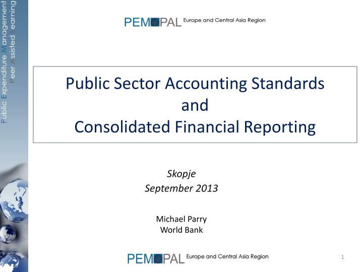 public sector accounting standards and consolidated financial reporting n.