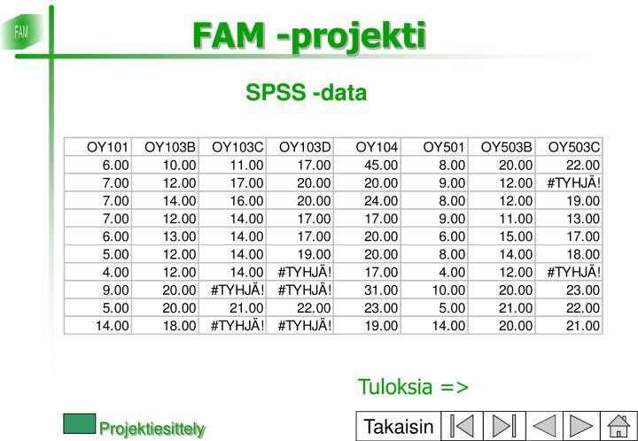 SPSS -data