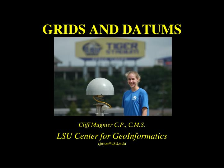 grids and datums n.
