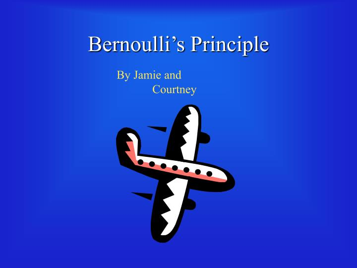 an analysis of the bernoullis principle Bernoulli's principle from equation in fluid mechanics, application of bernoulli's principle, what is bernoulli's equation and tool to use in analysis.