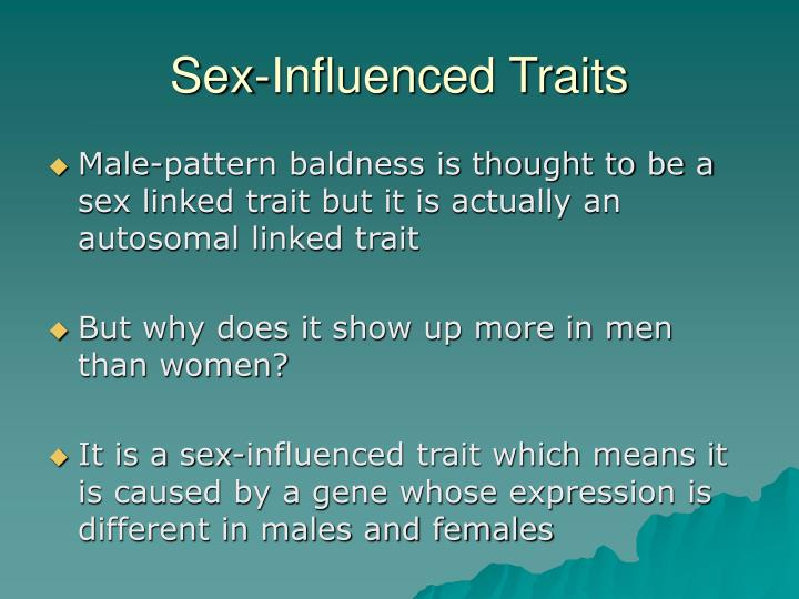 Sex-Influenced Traits