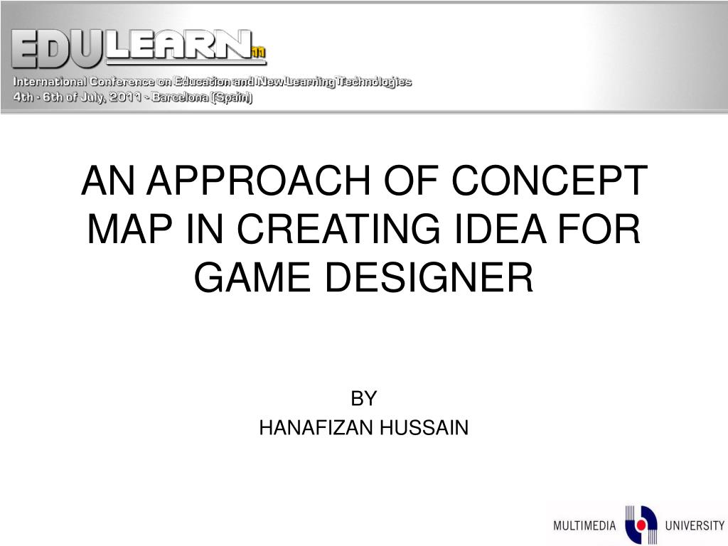 Ppt An Approach Of Concept Map In Creating Idea For Game Designer