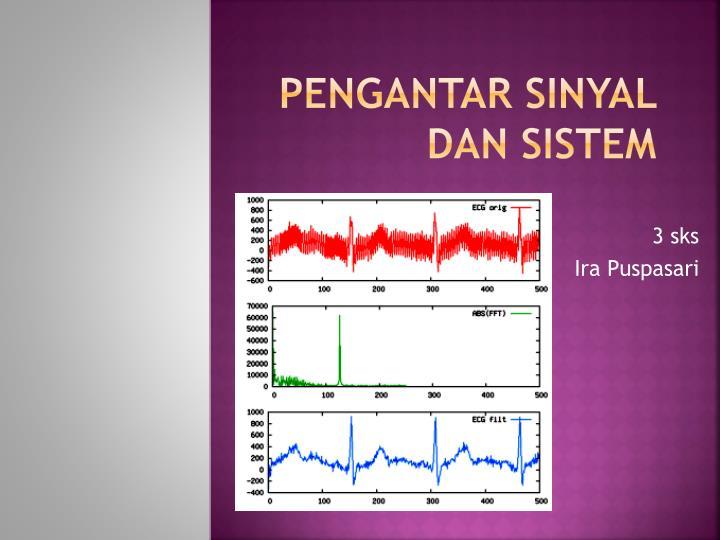 pengantar sinyal dan sistem n.