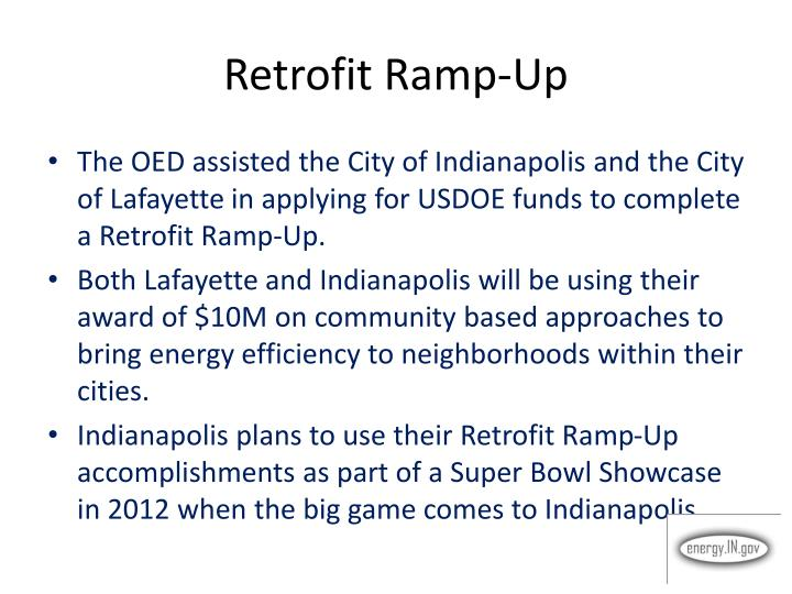 Retrofit Ramp-Up