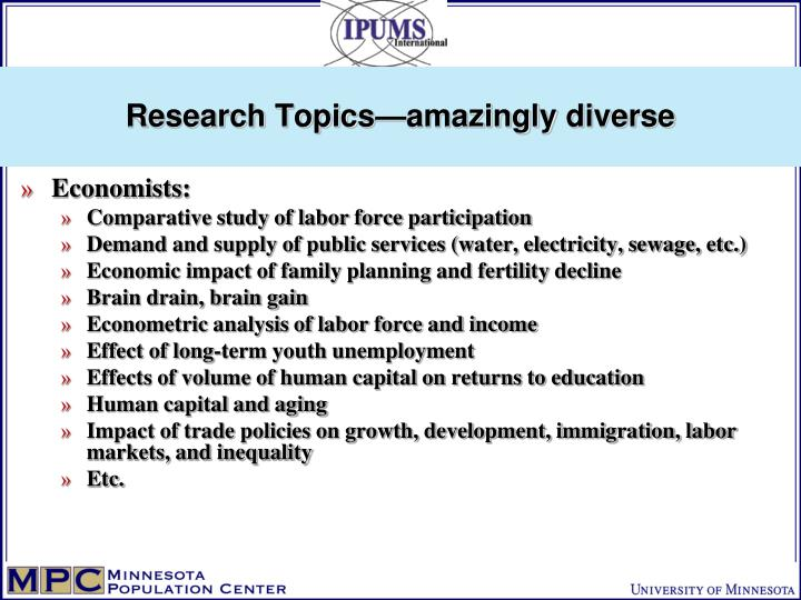 Research Topics—amazingly