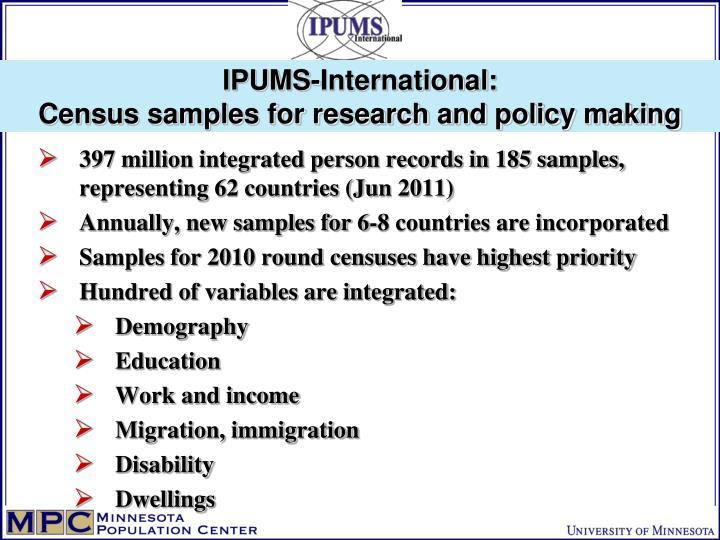 IPUMS-International: