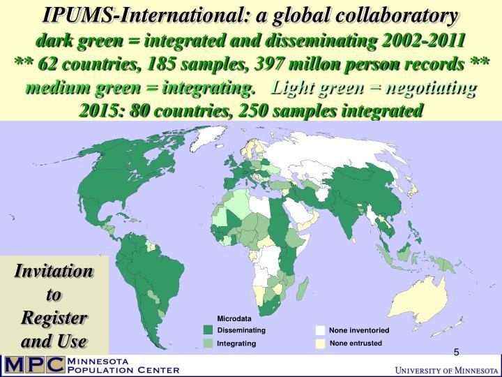 IPUMS-International: a global