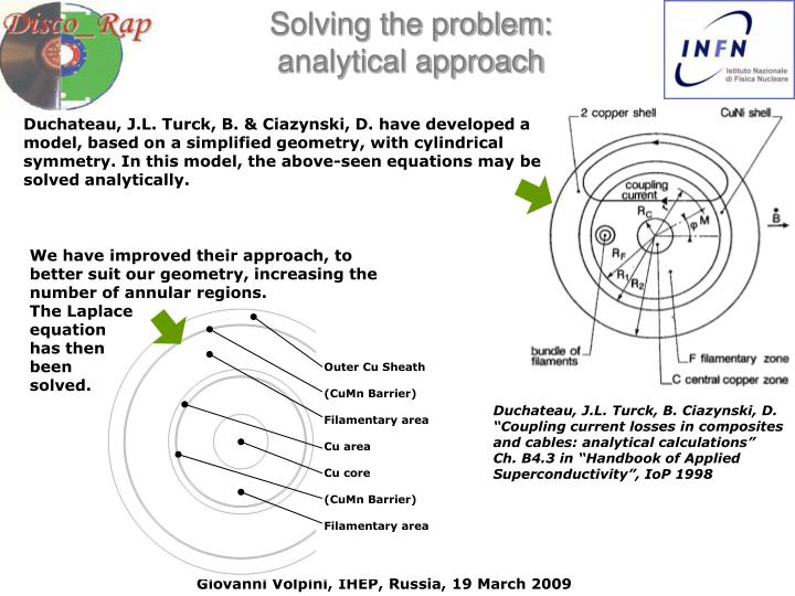 Solving the problem: