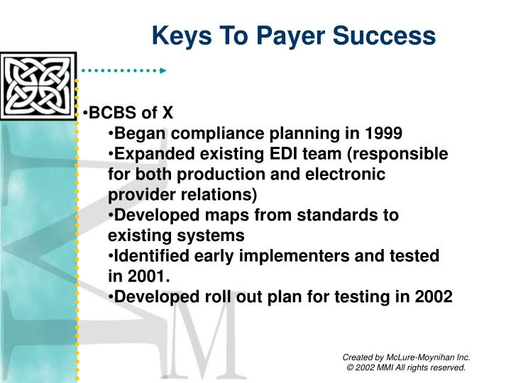 Keys To Payer Success